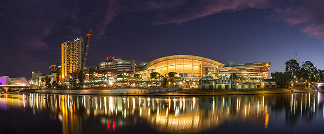 Adelaide Convention Centre Riverbank zone