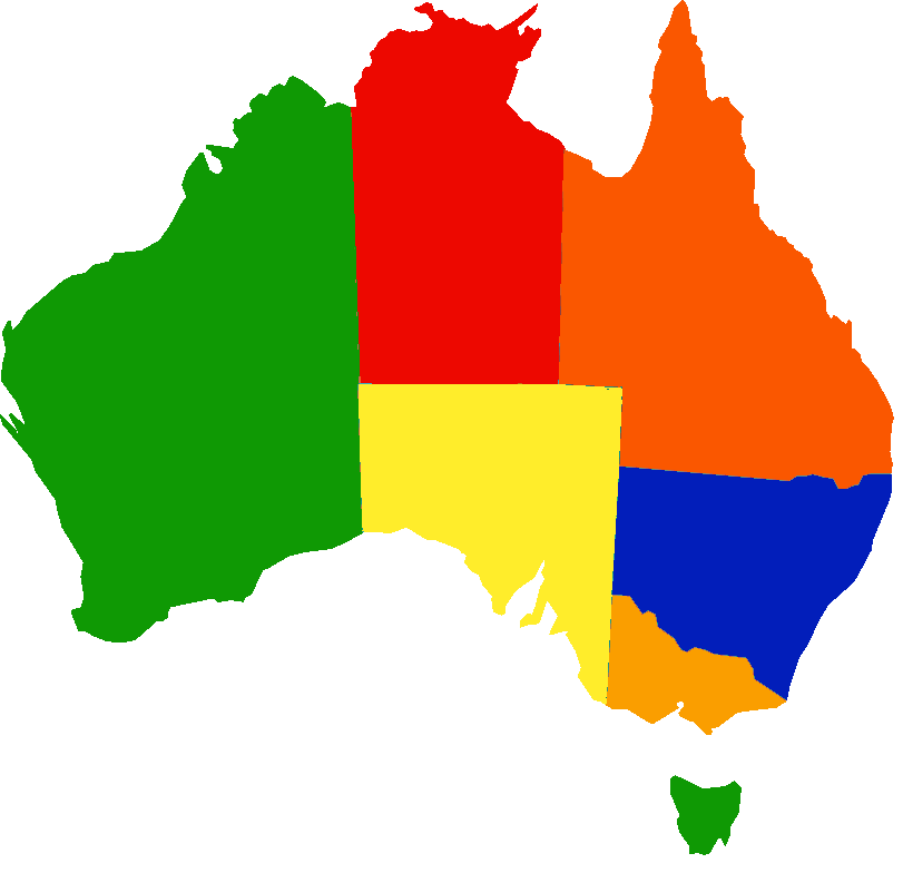 Map of Australia - SNAICC