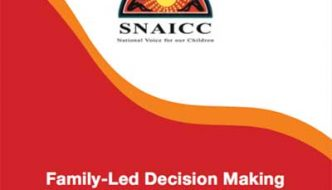 SNAICC members receive Family-led Decision Making Guide in Queensland