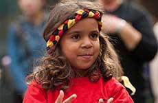 Girl dancer in South Australia