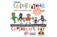 2018 SNAICC Children's Day logo