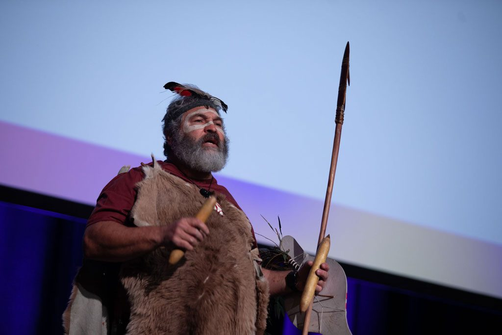 8th SNAICC National Conference: Senior Aboriginal Man Michael O'Brien