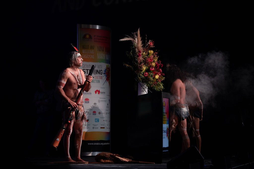 8th SNAICC National Conference: Smoking Ceremony