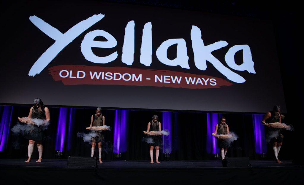 8th SNAICC National Conference: Yellaka dancers