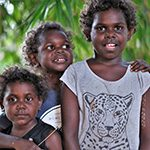 Aboriginal children from Maningrida