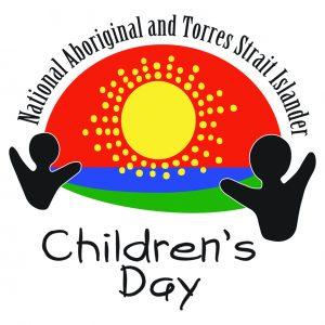 National Aboriginal and Torres Strait Islander Children's Day 2021 logo